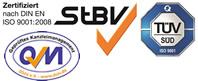 Zertifiziert nach DIN EN ISO 9001-2008